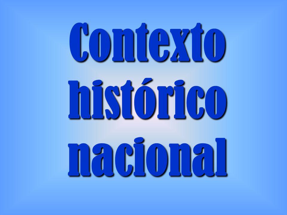 Contexto histórico nacional