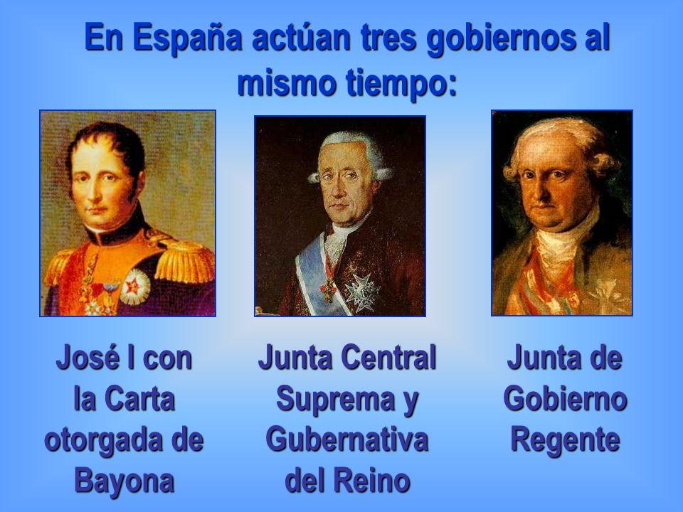 En España actúan tres gobiernos al mismo tiempo: