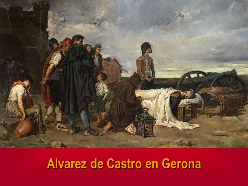 Alvarez de Castro en Gerona