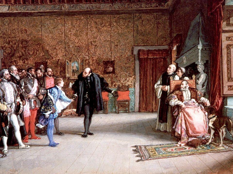 Política exterior Por la PAZ DE AUGSBURGO (1555): * Los príncipes alemanes tendrán libertad religiosa y su autonomía dentro del Imperio.