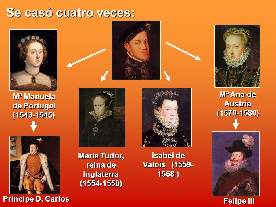 María Tudor, reina de Inglaterra (1554-1558)