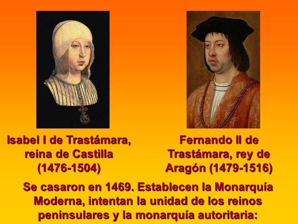 Isabel I de Trastámara, reina de Castilla (1476-1504)