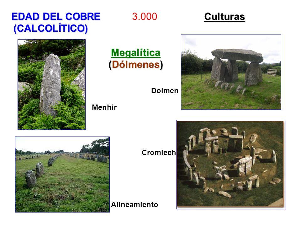 EDAD DEL COBRE 3.000 Culturas