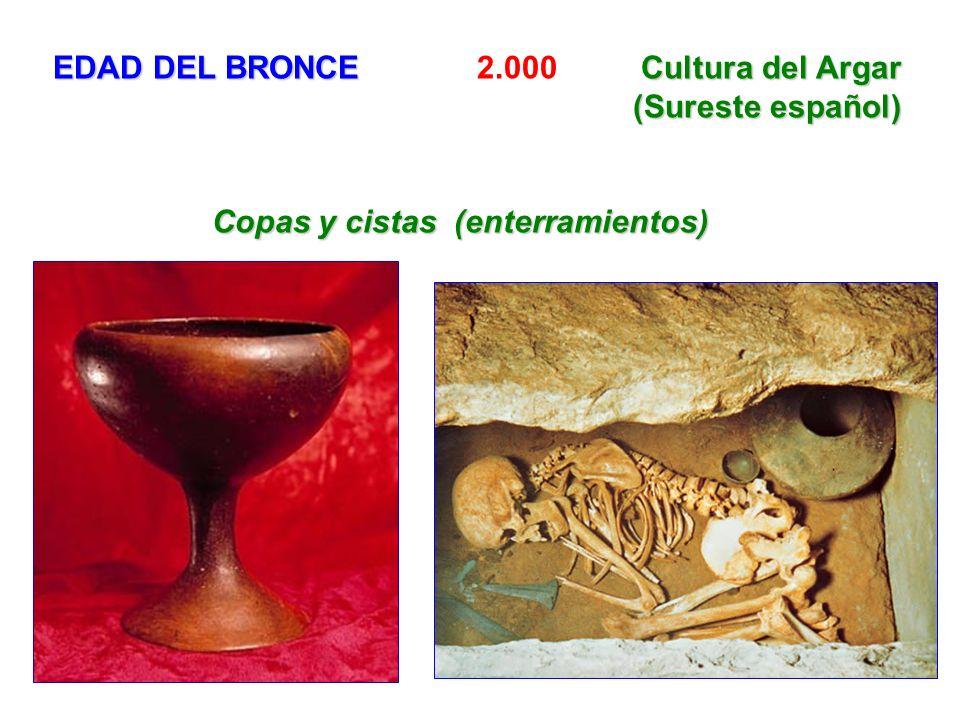 EDAD DEL BRONCE 2.000 Cultura del Argar (Sureste español)