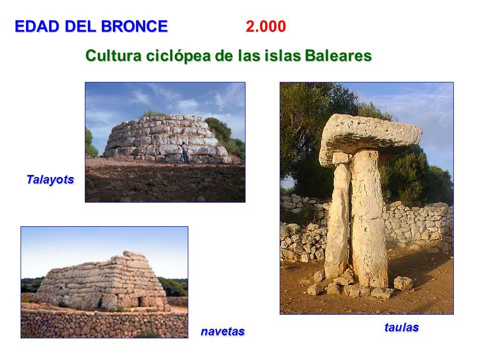 Cultura ciclópea de las islas Baleares