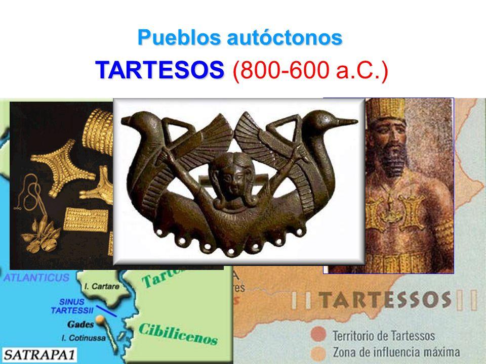 Pueblos autóctonos TARTESOS (800-600 a.C.)