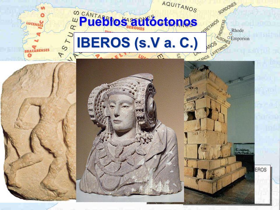 Pueblos autóctonos IBEROS (s.V a. C.)