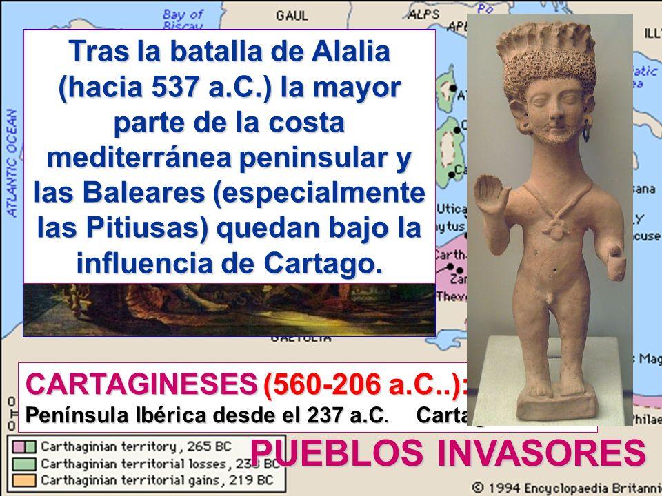 Tras la batalla de Alalia (hacia 537 a. C
