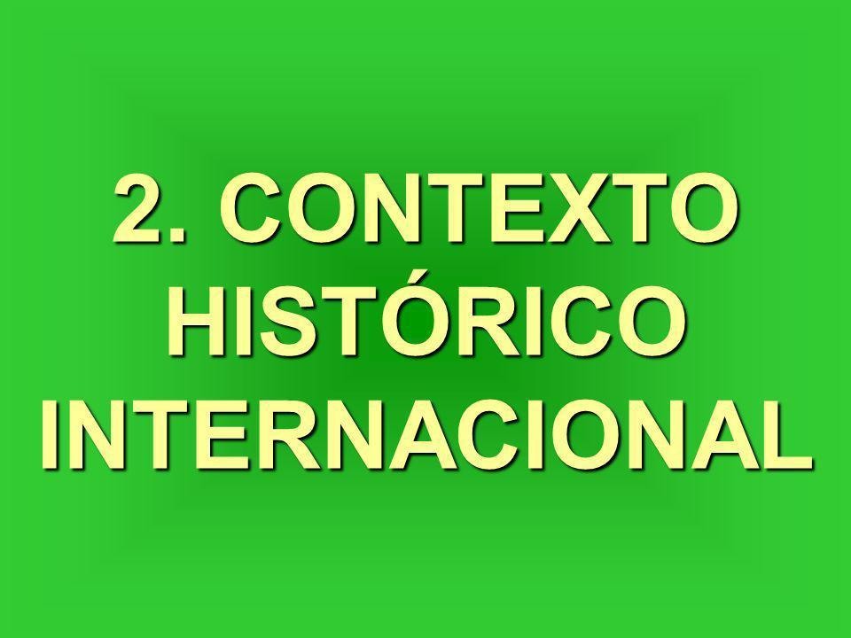 2. CONTEXTO HISTÓRICO INTERNACIONAL
