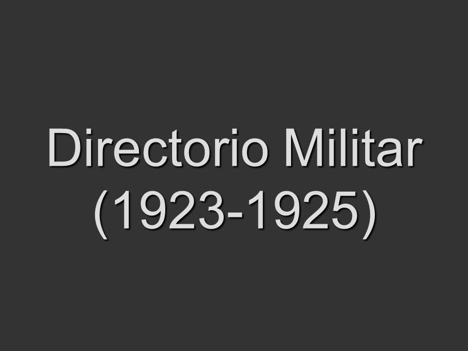 Directorio Militar (1923-1925)