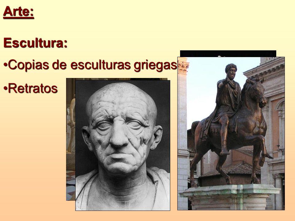 Arte: Escultura: Copias de esculturas griegas Retratos