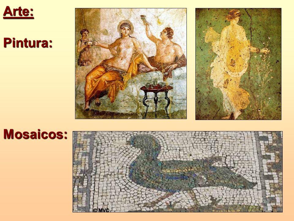 Arte: Pintura: Mosaicos: