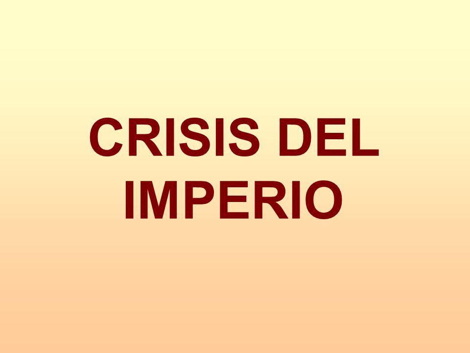 CRISIS DEL IMPERIO