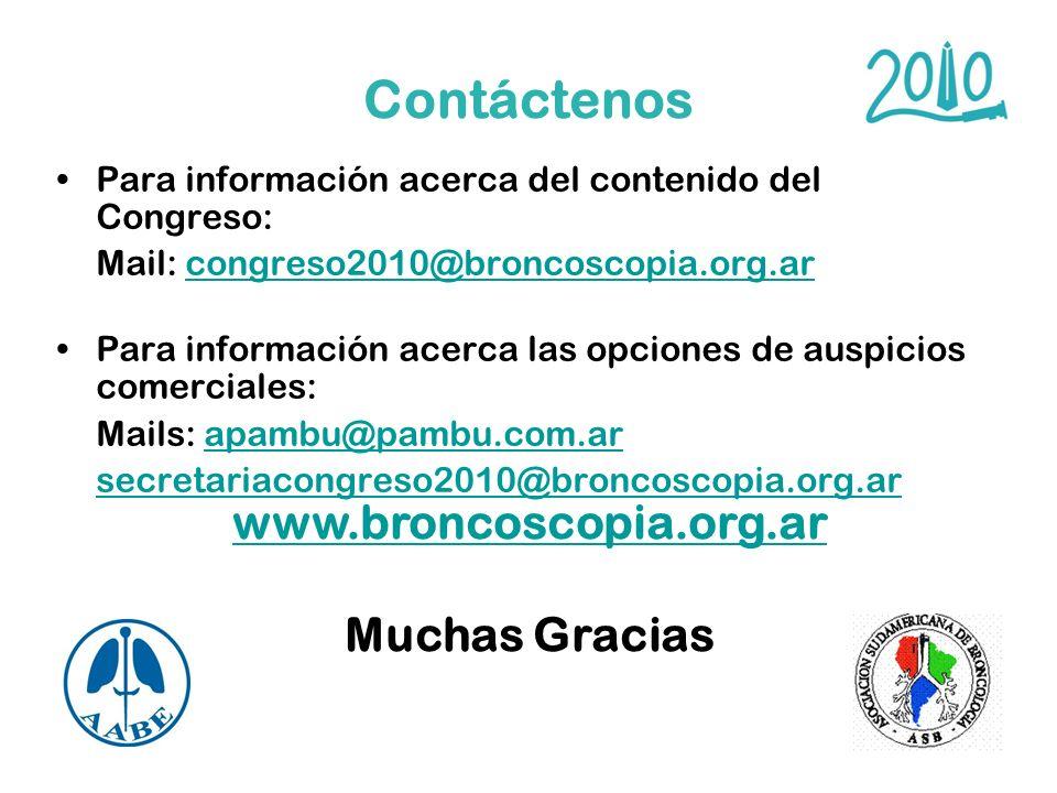 www.broncoscopia.org.ar Muchas Gracias