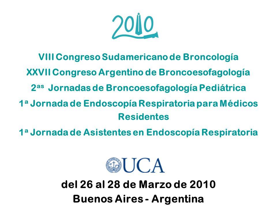 del 26 al 28 de Marzo de 2010 Buenos Aires - Argentina