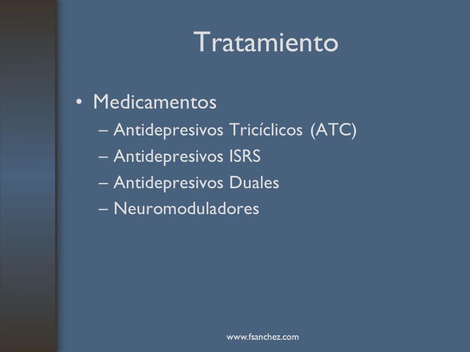 Tratamiento Medicamentos Antidepresivos Tricíclicos (ATC)