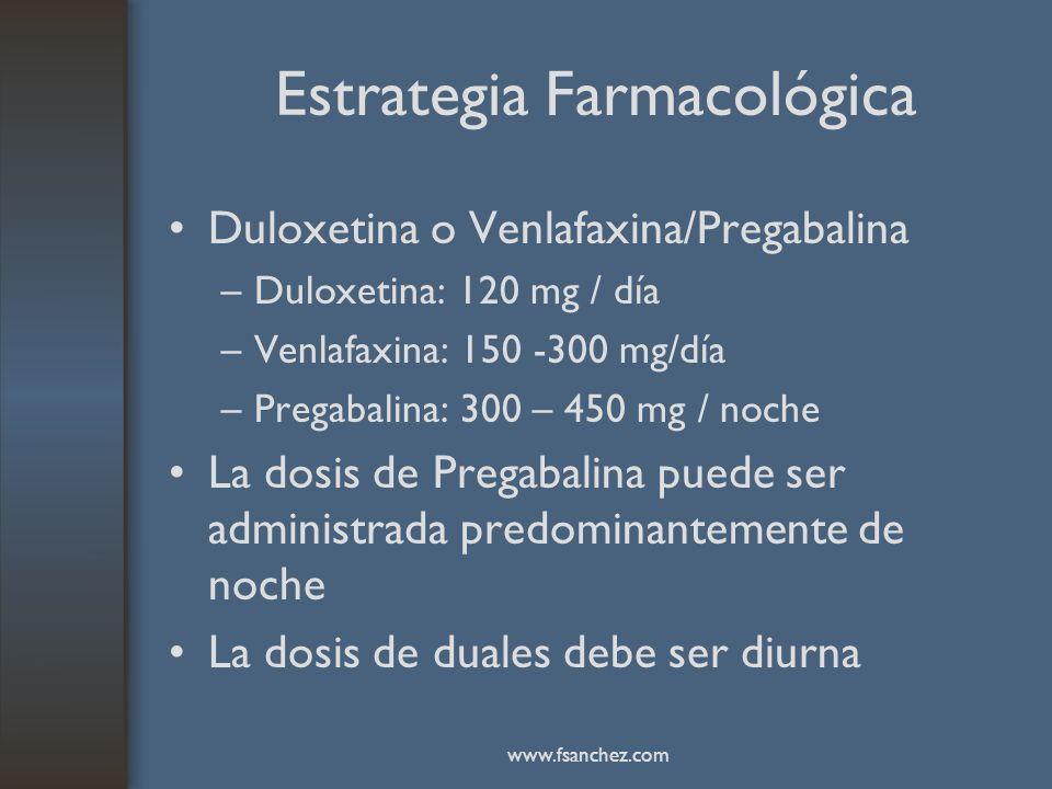 Estrategia Farmacológica