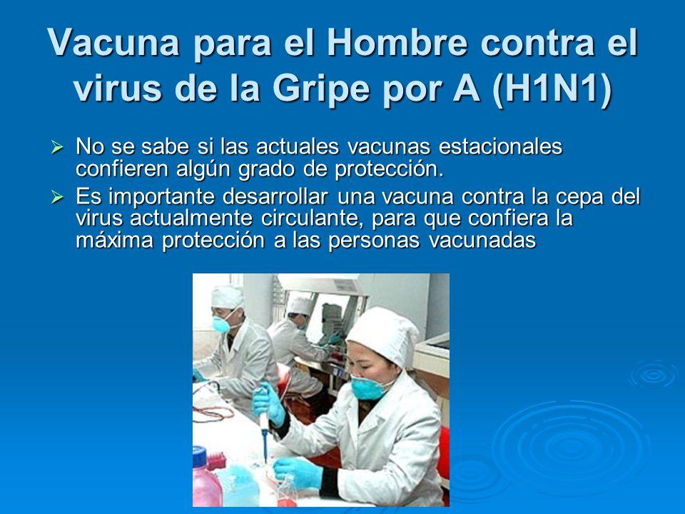 Vacuna para el Hombre contra el virus de la Gripe por A (H1N1)
