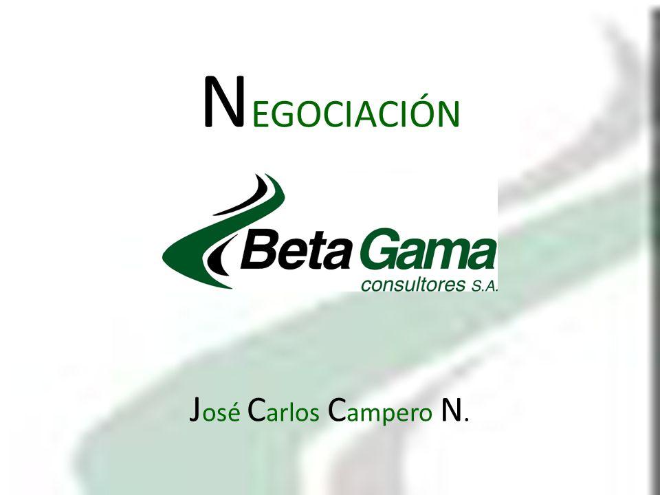 NEGOCIACIÓN José Carlos Campero N.