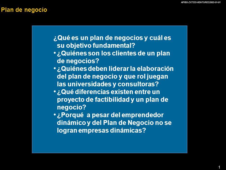 ¿Qué es un plan de negocios y cuál es su objetivo fundamental