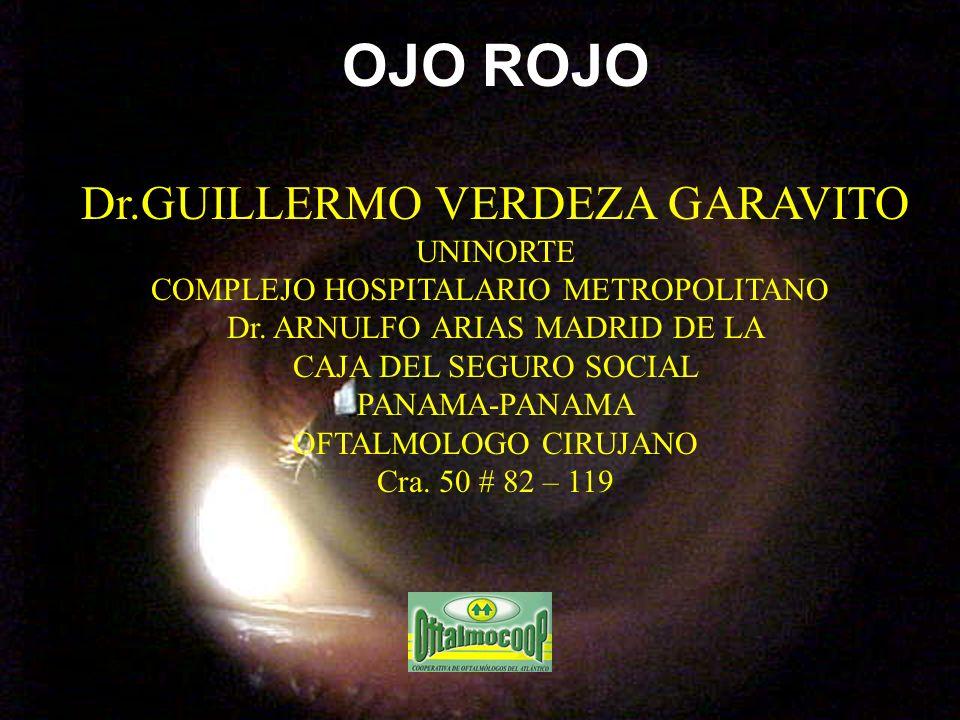 OJO ROJO Dr.GUILLERMO VERDEZA GARAVITO UNINORTE