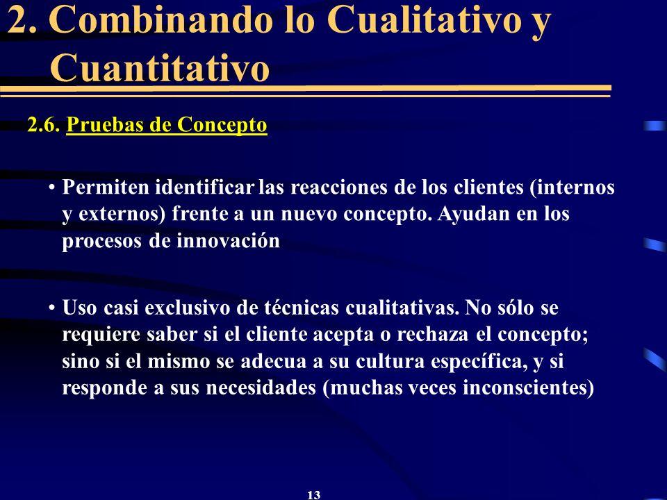 2. Combinando lo Cualitativo y Cuantitativo
