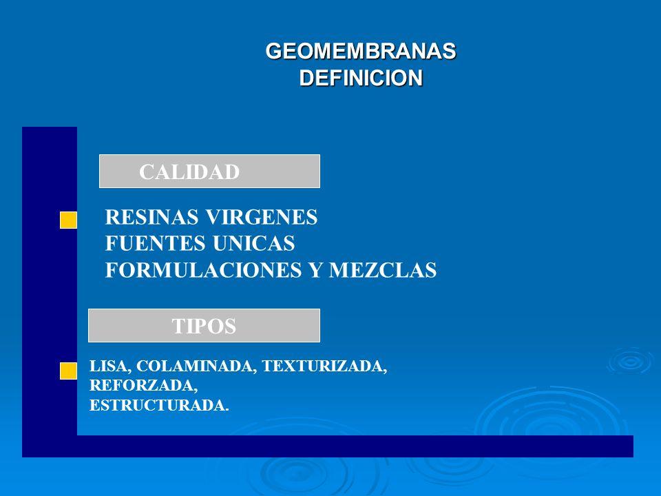 GEOMEMBRANAS DEFINICION