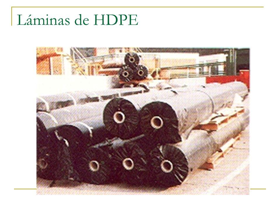 Láminas de HDPE