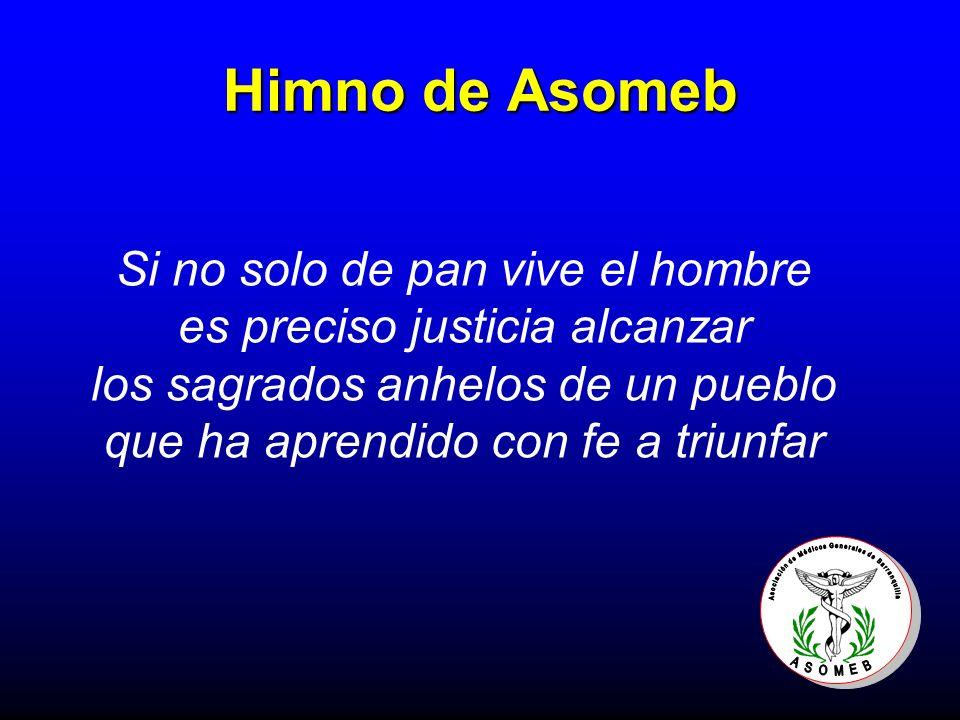Himno de Asomeb Si no solo de pan vive el hombre