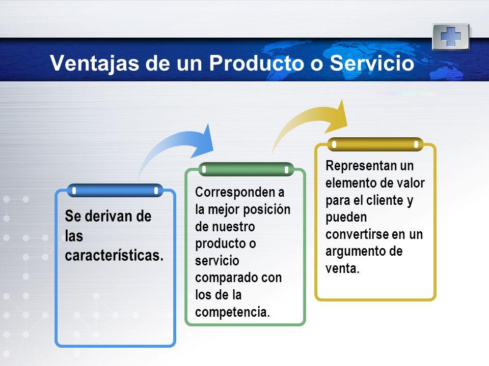 Ventajas de un Producto o Servicio