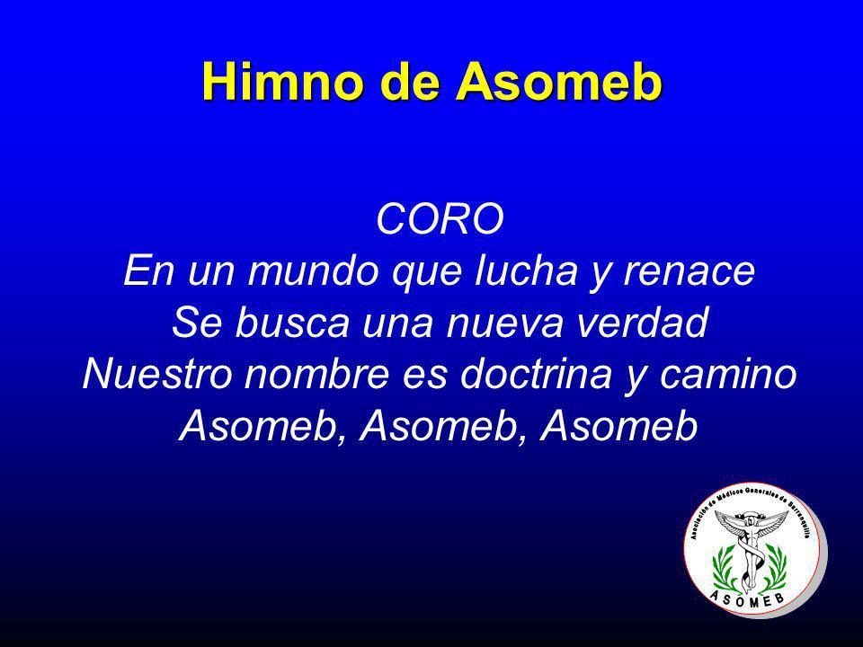 Himno de Asomeb CORO En un mundo que lucha y renace