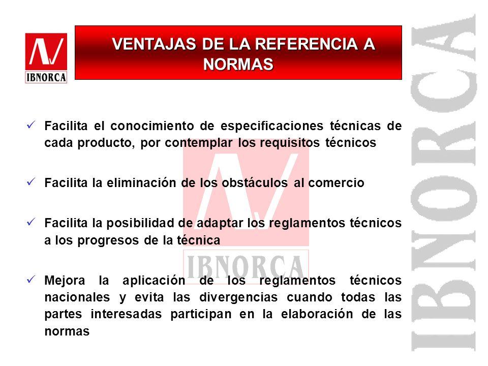 VENTAJAS DE LA REFERENCIA A