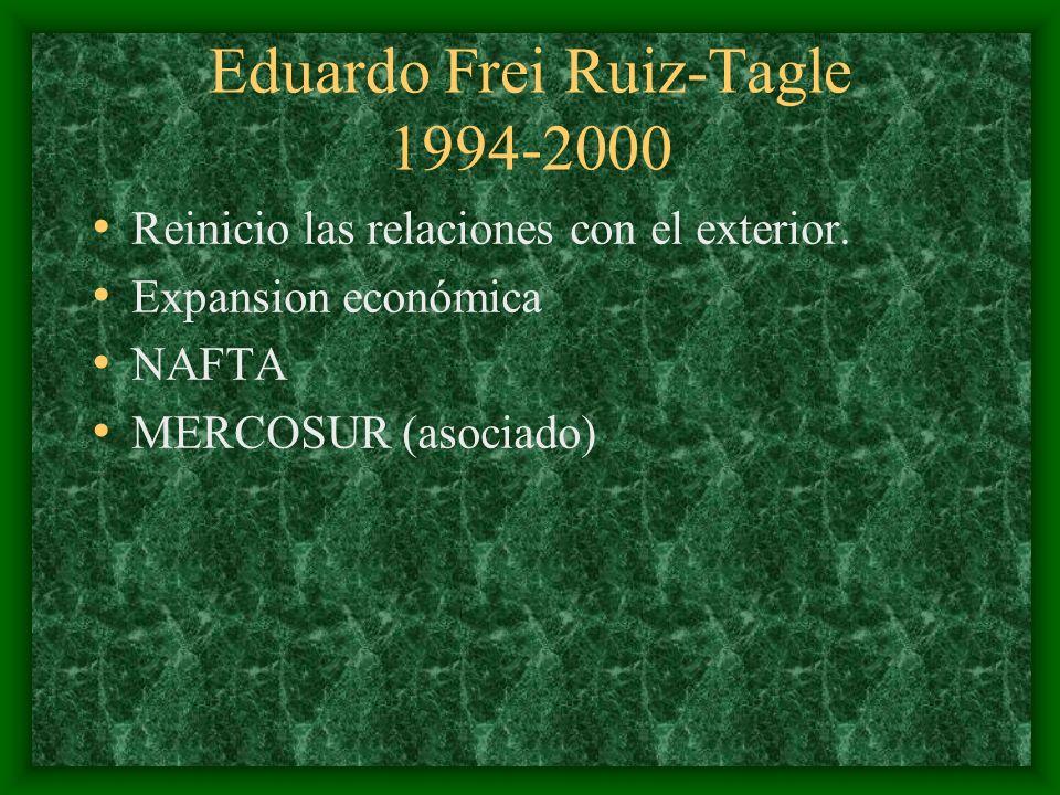 Eduardo Frei Ruiz-Tagle 1994-2000