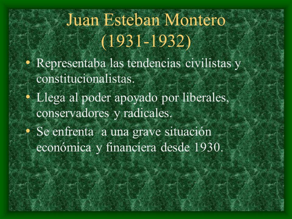 Juan Esteban Montero (1931-1932)