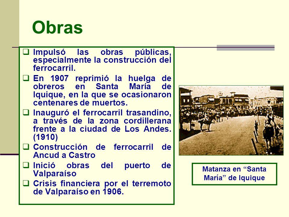 Matanza en Santa María de Iquique