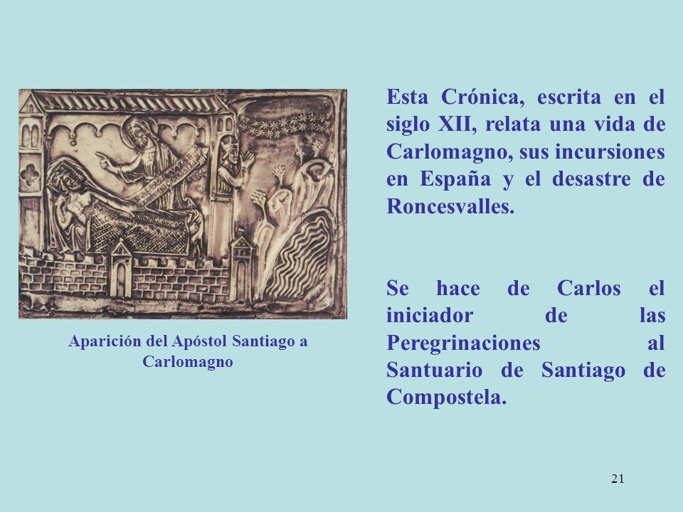 Aparición del Apóstol Santiago a Carlomagno