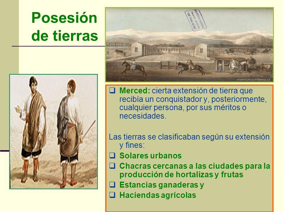 Posesión de tierras