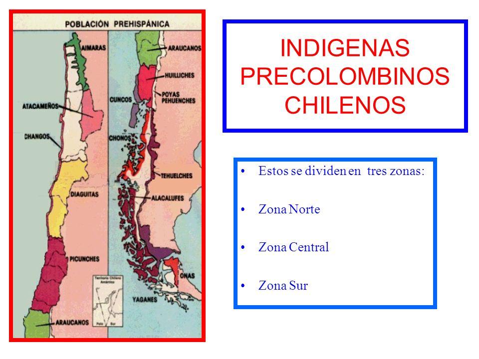 INDIGENAS PRECOLOMBINOS CHILENOS