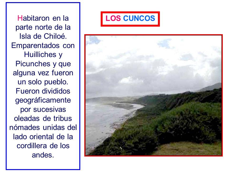 Habitaron en la parte norte de la Isla de Chiloé