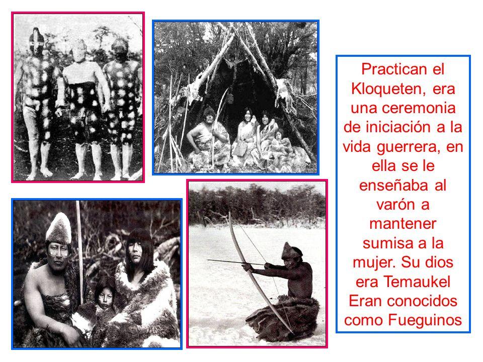 Eran conocidos como Fueguinos
