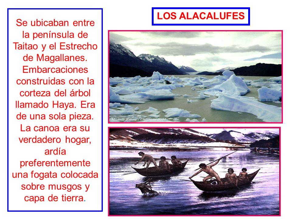 Se ubicaban entre la península de Taitao y el Estrecho de Magallanes