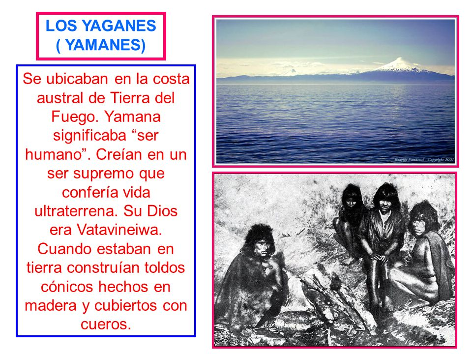 LOS YAGANES( YAMANES)