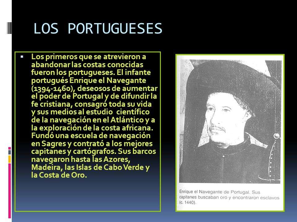 LOS PORTUGUESES