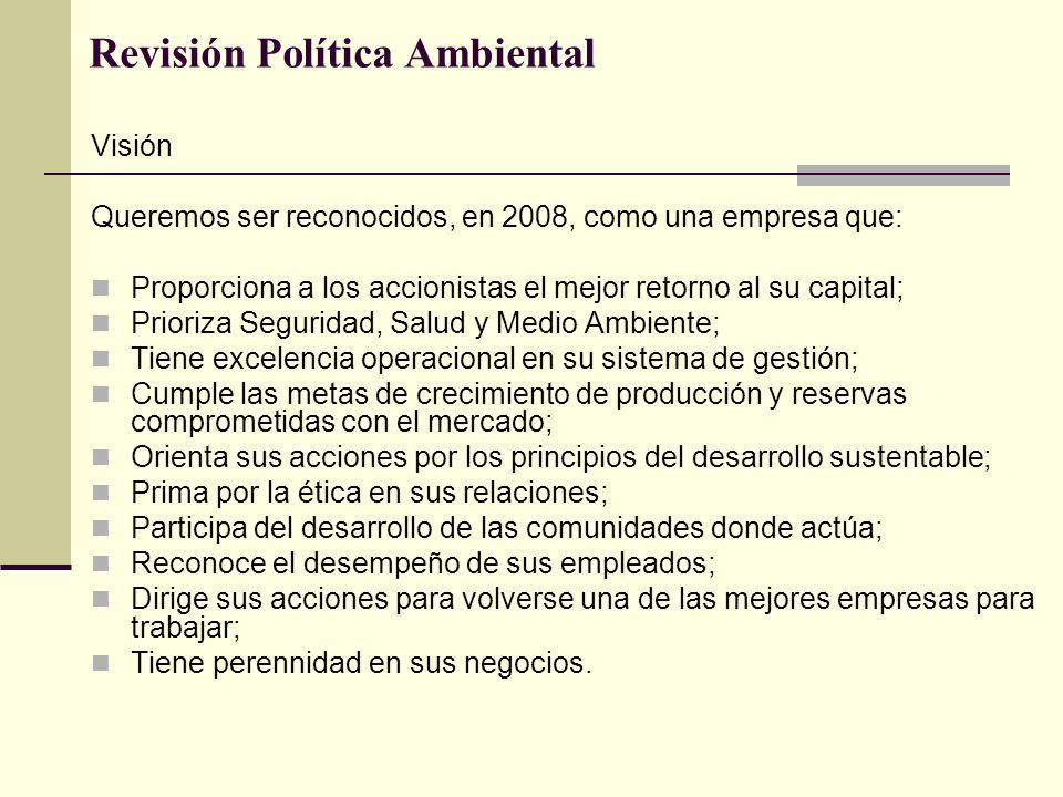 Revisión Política Ambiental