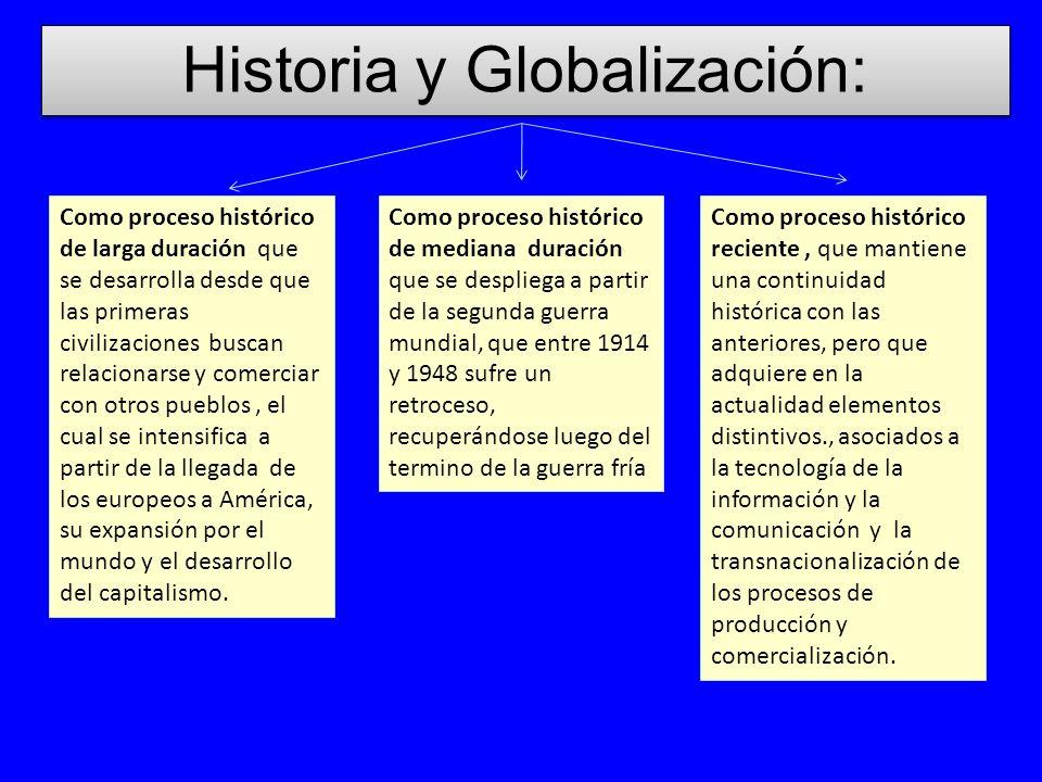 Historia y Globalización: