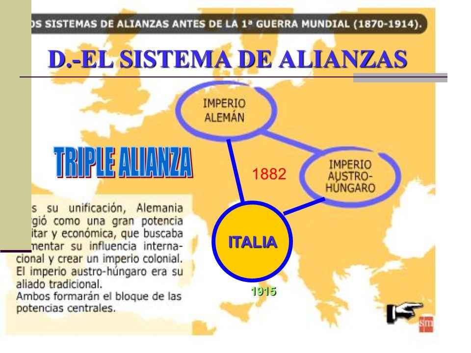 D.-EL SISTEMA DE ALIANZAS