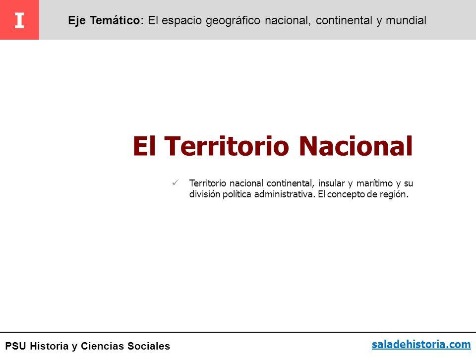 El Territorio Nacional