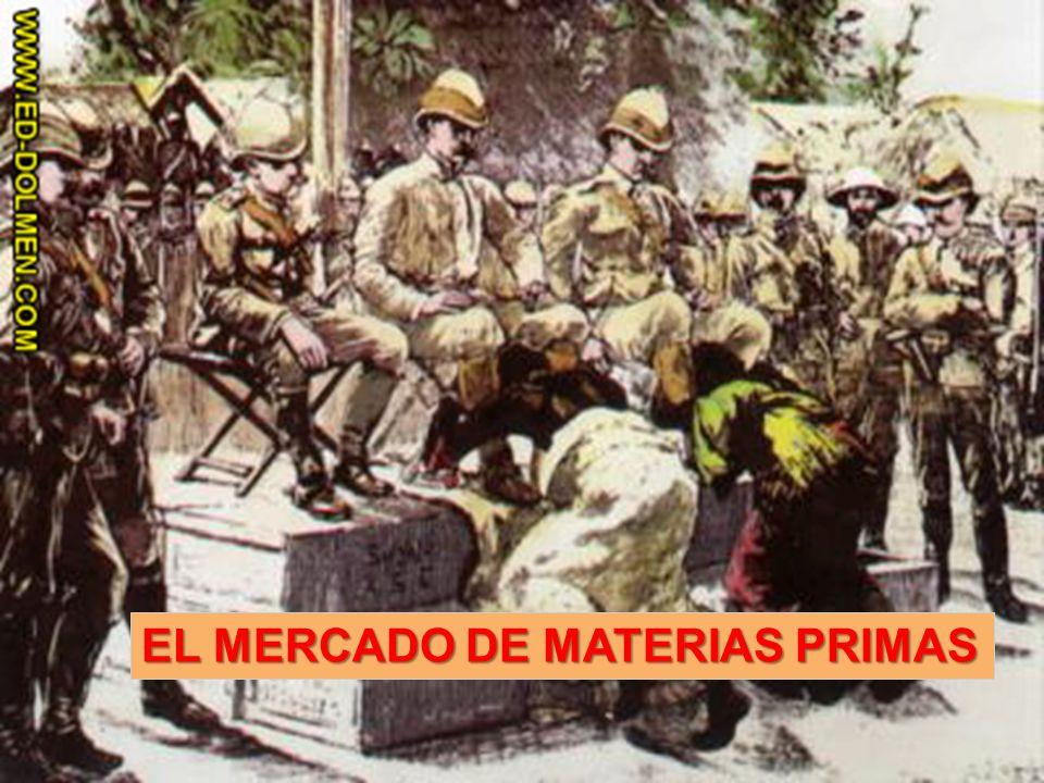 EL MERCADO DE MATERIAS PRIMAS