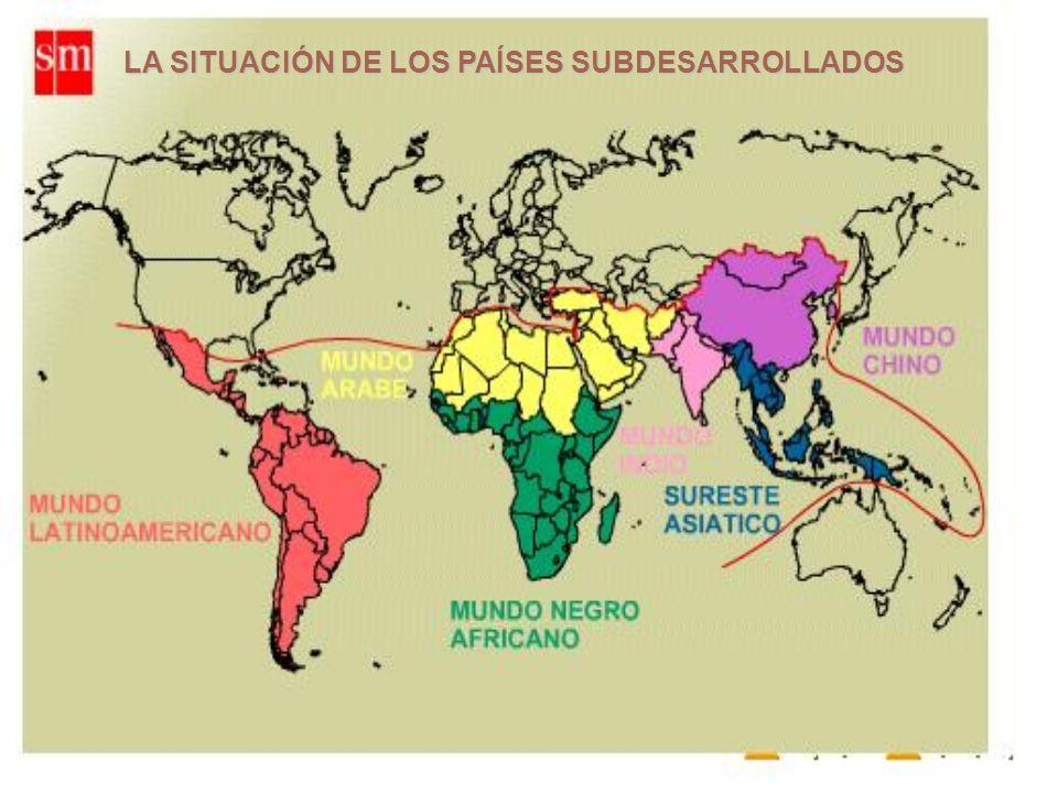 LA SITUACIÓN DE LOS PAÍSES SUBDESARROLLADOS