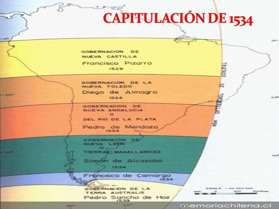 CAPITULACIÓN DE 1534